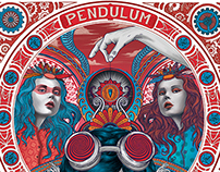 "Album Cover ""Pendulum"" by Mary Has A Gun"