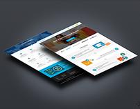 Website design for online shop