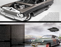 Hot Rod Magazine Layout