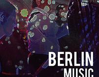 Berlin Music Festival Poster Series