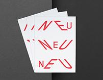 »Neu Neu Neu« Book