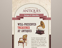 Antique Store Roll-up Banners