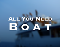 All You Need Boat: User Interface Website Design
