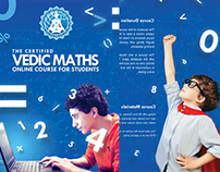 Brochure for Online Math Course Provider