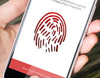 Fingerprint Mobile Animation In After Effects Girish So