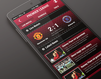 FootBall App Concept