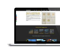 Goldenbook Website Design