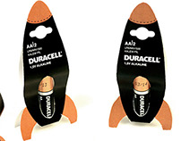 Duracell Creative Battery Packaging