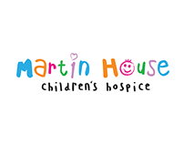 Poster campaign for Martin House Children's Hospice
