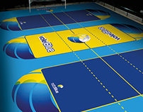 Volleyball Courts for VoleiBlue