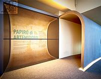 MUSEO ARCHEOLOGICO | Esposizione Papiro di Artemidoro