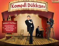 Komedi Dükkanı Website