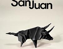 Fiestas de San Juan. Soria. 2013. FINALIST POSTER.