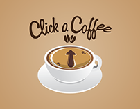 Click a Coffee Logo Design