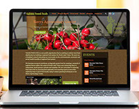 Tahoe Food Hub Wordpress website by DK Design Studio