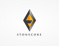Stonecore logo design