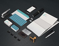 Al Khuzam Palace Stationary Design