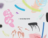 Artist Ball Concept 2014
