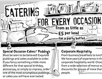 Catering Flyer Design