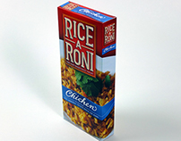 Rice-a-Roni Package Design