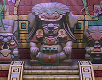 GREE Jackpot Slots Mayan Fortune Mini Game