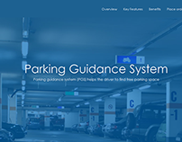 Parking Guidance System Website Design