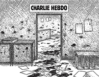 Short Comic Book Story For Charlie Hebdo