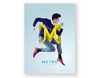 Metro Clothing Branding