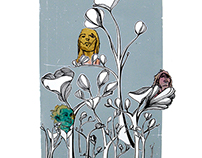 Mixed Media Illustration Series