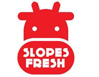 Slopes Fresh Logo Design