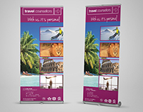 Travel Counsellors Roll-up Banner