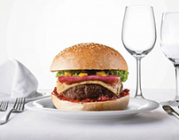 Mm&g's Burger Print Ads