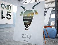 2015 Calendar cover