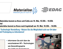 EDAG - Materialise NV - Online invitation