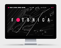 Fotonica game promotion website