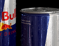 CG Red Bull Can