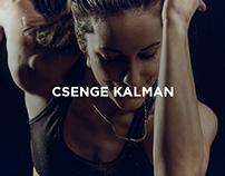 Athlete portrait : Csenge Kalman