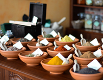 Food photography/Spice shop in Bucharest I