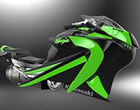 Kawasaki ZX10R Hover Bike