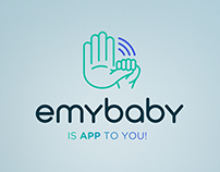 emybaby app: branding, app, dashboard & website design