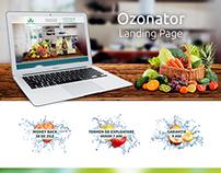 Ozonator Landing Page