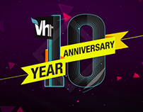 Vh1 10 years Branding