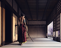 Oriental - Photomanipulation with 3d elements
