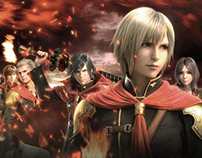 Final Fantasy Type-0 Graphics