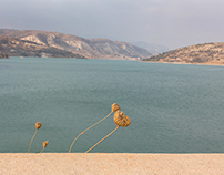 The beauty of reservoir. Cyprus