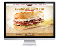 Firehouse Subs - Website Redesign Pitch Concepts