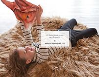 Adolfo Dominguez - Kids Campaign FW 2012