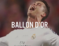 Cristiano Ronaldo: Ballon D'Or 2014