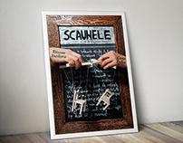 Handmade theatre poster