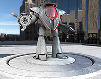 Mech - 3D Animation